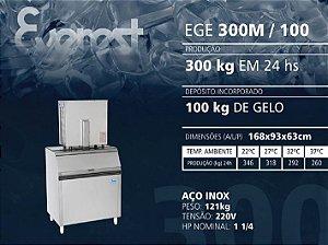 MÁQUINA DE GELO EGE 300M/100 (220V)