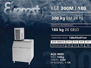 MÁQUINA DE GELO EGE 300M/180 (220V)