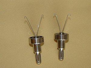 Dubbing loop twister rolamentado (corpo em aço inoxidável)