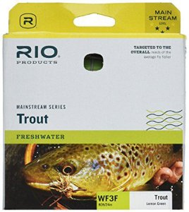 LINHA RIO MAINSTREAM SERIES TROUT LEMON GREEN
