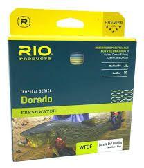 Linha Rio Dorado Tropical Series Freshwater ExP - Floating - WF9F Sand/Aqua Blue