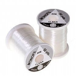 Monofilamento Ultra Thread 50 yds 0004 clear