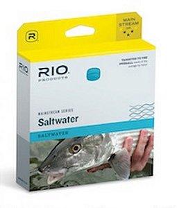 Linha RIO Mainstream Saltwater WF F Blue
