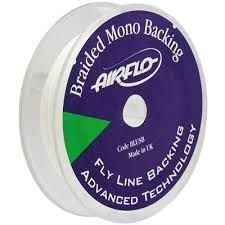 AIRFLO BRAIDED MONO BACKING 80 JARDAS/ 73m  30 LIBRAS/ 13,6K ou 20 LIBRAS/ 9K