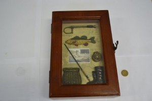 Caixa com porta chaves ( fly Fishing)