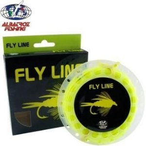 Linha de Fly Albatoz -Fly Line Floating fl. Yellow