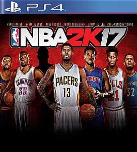 NBA 2k17 - PS4 Mídia Digital