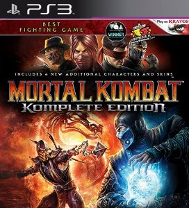 Mortal Kombat Komplete Edition - PS3 Mídia Digital