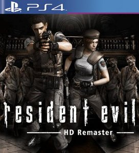 Resident Evil HD Remaster - PS4 Mídia Digital