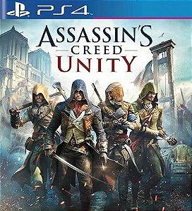 Assassins Creed Unity - PS4 Mídia Digital