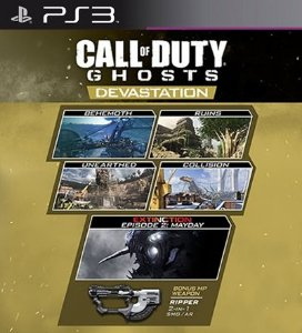 Devastation Mapas PSN DLC Expansão CoD Ghosts - PS3