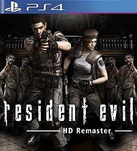 Resident Evil HD Remaster - PS4 Mídia Digital