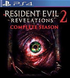 Resident Evil Revelations 2 Completo - PS4 Mídia Digital