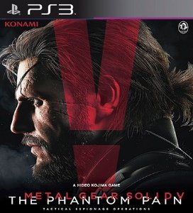 Metal Gear Solid 5 The Phantom Pain - PS3 Mídia Digital