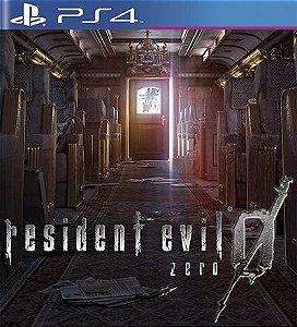 Resident Evil 0 Zero HD Remaster - PS4 Mídia Digital