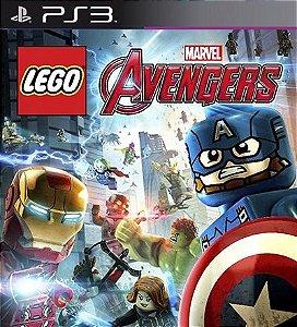 Lego Marvels Avengers Os Vingadores - PS3 Mídia Digital