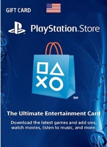 Card Psn US Dolares Cartão Playstation Ps3 Ps4 Vita