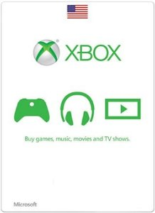 Card Xbox Microsoft Live US Dolares Cartão Windows