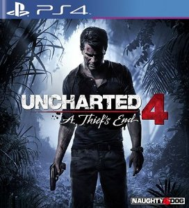 Uncharted 4  A Thiefs End - PS4 Mídia Digital