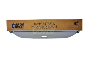 SALDO Mitsubishi PAJERO SPORT - Tampa Retrátil do porta-malas (apenas para veículos que já possuem as esperas/trilhos plásticos instalados) - CINZA CLARO.