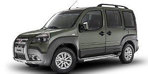 Fiat Doblo  - Tampa Retrátil do porta-malas (cinza grafite ou preta )