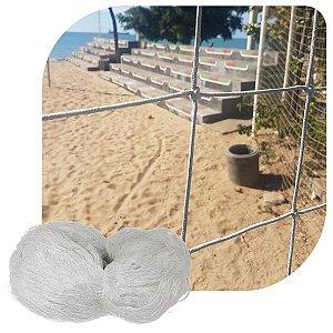 Rede de Proteção Esportiva Sob Medida Fio 2 Malha 08cm Seda