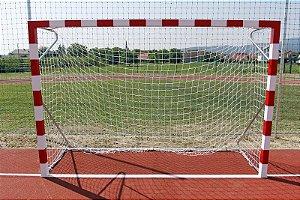 Par Rede Handball Tradicional Fio 4mm Véu Cortina Nylon