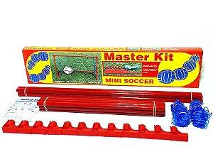 Kit Quadra Mini Soccer Portátil