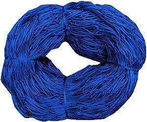 Rede de Proteção Esportiva 5,20x11,70m Fio 4mm Malha 12cm Azul Nylon