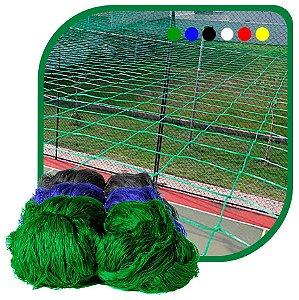 Rede de Proteção Esportiva Sob Medida Para Campo/Quadra de Futsal, Futebol, Society Fio 2 Malha 8cm