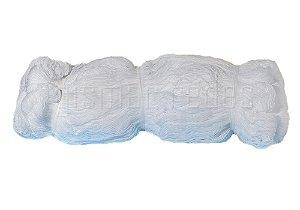 Fardo Rede de Proteção 210m² Fio 2,5mm Malha 5cm Cristal Polietileno