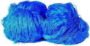 Rede de Proteção Esportiva 2x30m Fio 2 Malha 15cm Azul