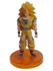 Goku Super Saiyan 3 + Boneco + Dragon Ball Z + 16 Cm