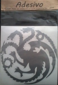 Adesivo Game Of Thrones Casa Targaryen