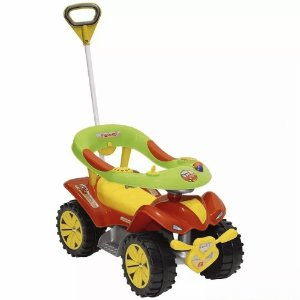 Andador Boy Car Vermelho Style Articulado Biemme 717