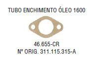 Junta do Tubo de Enchimento de Oleo VW 1300 / 1500 / 1600 - CSS46655CR