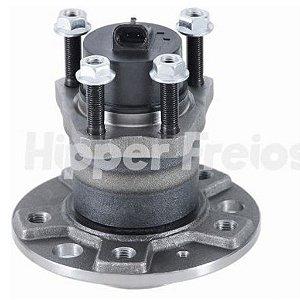 Cubo de Roda com Rolamento Astra 2.0 8V / 2.0 16V / Vectra 2.0 16V / 2.2 16V / 2.4 / Zafira ( + ABS ) ( 5 Furos ) - CHICT23E