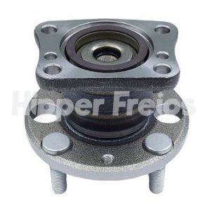 Cubo de Roda com Rolamento Fiesta New Hatch / Sedan 2011 > / Ka 2014 > ( + ABS ) - CHICT19A