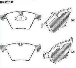 Pastilha de Freio BMW X1 3.0 / 1.8 / 2.0D / 2.0 Dreview 2011 / BMW 318I / 318D / 320I / 323I / 328I 2011 / - CSP860
