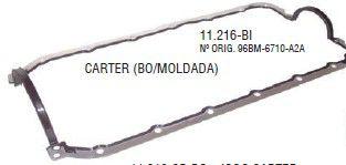 Junta do Carter Ford Endura e Fiesta / Ka 1.0 / 1.3 ( Carter Em Aluminio com Bi ) - CSS11216BI