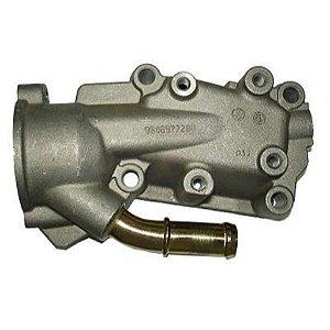 Flange Aluminio 206 1.6 16V Tu5Jp 2001 / 2006 - CVC615C