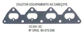 Junta do Coletor de Escapamento Corsa 1.6 16V 95 / ... Corsa 1.0 16V 99 / ... - CSS10041SC