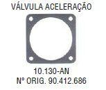 Junta da Valvula de Aceleracao Vectra 2.0 / 2.2 16V 97 / ... - CSS10130AN