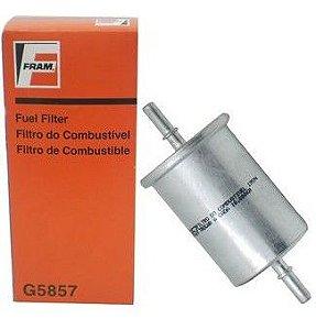 Filtro de Combustivel Citroen C3 / Xsara Gas. / Clio / Megane / Twingo Gas. / Peugeot 206 / 306 / 307 Gas. - CFFG5857