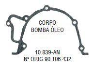 Junta do Corpo da Bomba de Oleo Monza / Kadett / Omega / Vectra - CSS10839AN