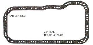 Junta do Carter Fiat Sevel 1.5 / 1.6 Fiat Palio 1.6 16V - CSS40516CB
