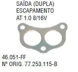 Junta da Saida Escapamento Vw At 1.0 8 / 16V.97... - CSS46051FF