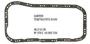 Junta do Carter Fiat Tempra / Tipo 2.0 8 / 16V - CSS40216CB