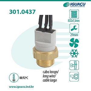 Termo Interruptor do Radiador ( Cebolao ) Fiorino / Elba / Premio 1.5 / 1.6 - CIG437