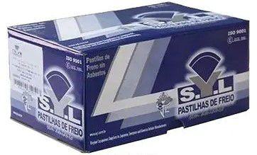 Pastilha de Freio Gol GTI 2.0 93 > 94 / Santana - CSY1233